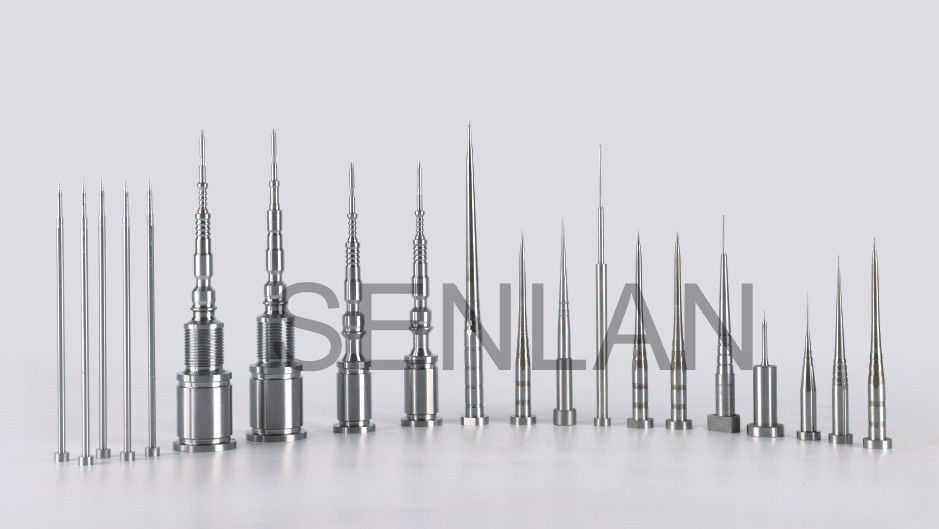 Core Pin Insert Pins For Medical Mold Pipette Tips Tolerance and Concentricity within 0.005mm